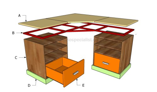 Free Desk Plans How To Build A Desk